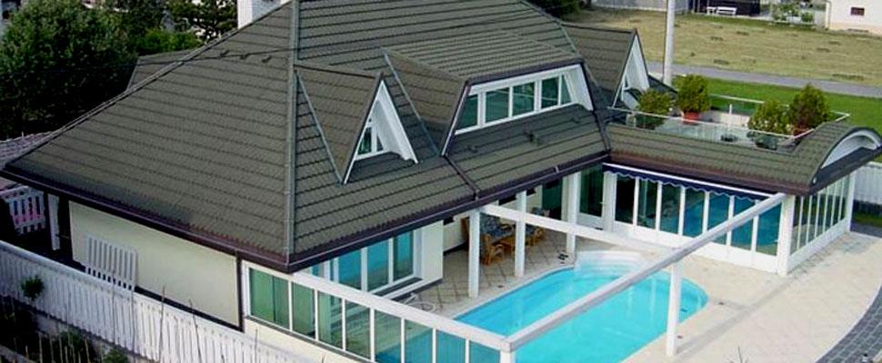 Naše vodilo je kakovostKakovostno izvedemo sanacije streh, pokrijemo novogradnje, izdelamo nadstreške ...